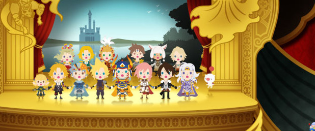 Theatrhythm Final Fantasy: Curtain Call Screenshot - Curtain Call