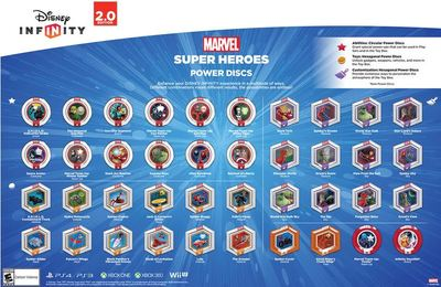 disney infinity 2.0 power discs