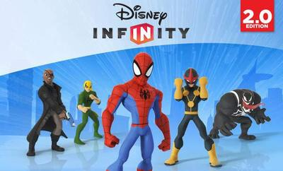disney infinity 2.0 spider-man