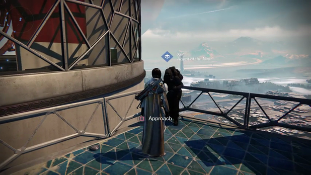Destiny xur agent of the nine location and exotic items 10 10 14