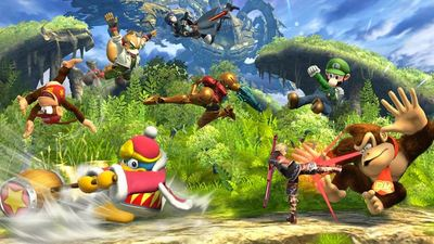 8 players super smash bros. wii u