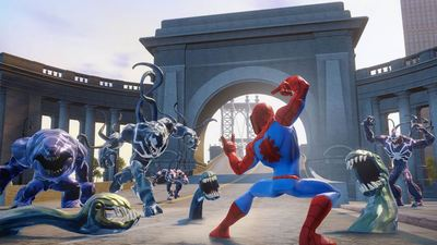 Disney Infinity: Marvel Super Heroes (2.0 Edition) Screenshot - Spider Man Playset