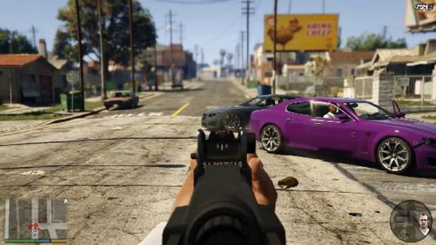 Gta 5 First-person Mode