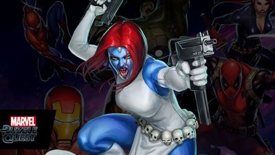 Marvel Puzzle Quest Screenshot - mystique marvel puzzle quest
