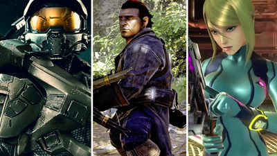 Master Chief, Varric and Samus