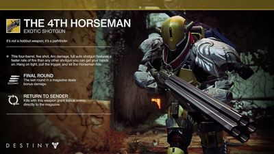 destiny: the dark below exotic shotgun