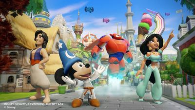 Disney Infinity: Marvel Super Heroes (2.0 Edition) Screenshot - Crystal Sorcerer's Apprentice Mickey