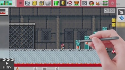 Gaming Culture Screenshot - mario maker