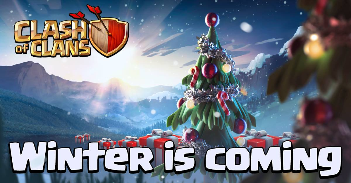 Clash of Clans Winter Update coming soon