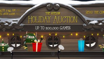Gaming Culture Screenshot - Steam Holiday Auction