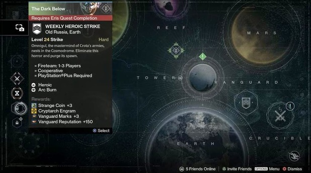 Strike - Destinypedia the Destiny encyclopedia
