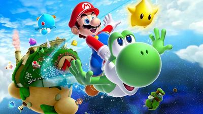Wii U (console) Screenshot - super mario galaxy 2