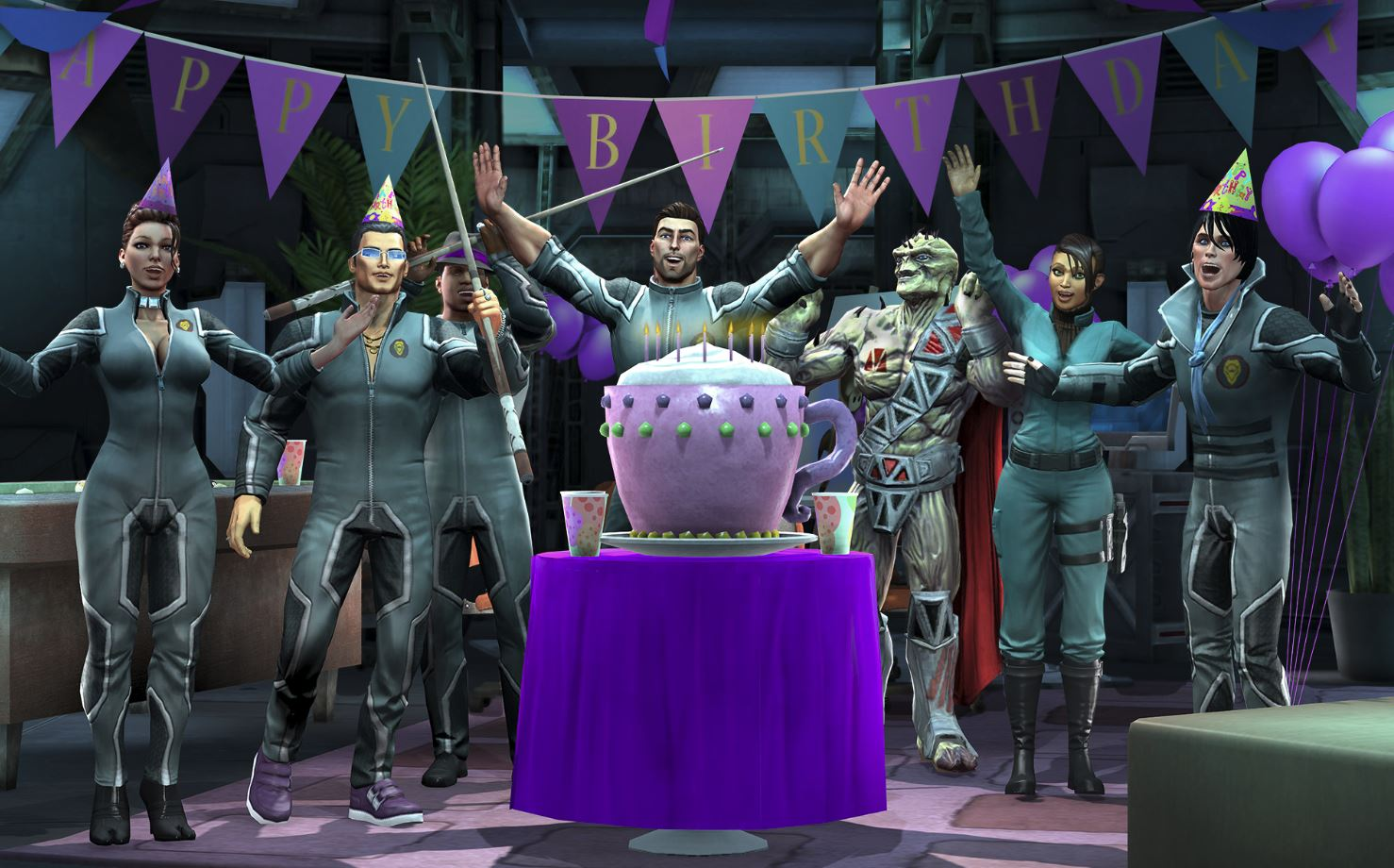 Gat Out of  Hell Birthday