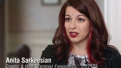 Gaming Culture Screenshot - anita sarkeesian abc
