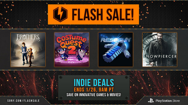 Flash Games For Ps3 : Sony discounts over ps and vita games in new
