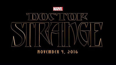 TV & Movie News Screenshot - doctor strange marvel logo
