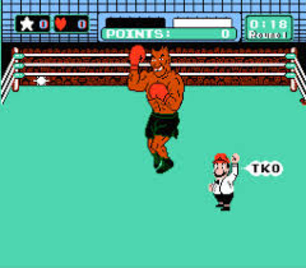 Mike Tyson Punch Out Wii : Blindfolded man goes in mike tyson s punch out