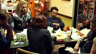 TV & Movie News Screenshot - the avengers shawarma