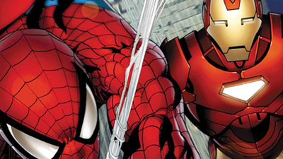 TV & Movie News Screenshot - spider-man iron man
