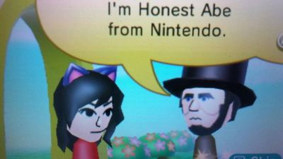 New Nintendo 3DS XL Screenshot - Honest Abe