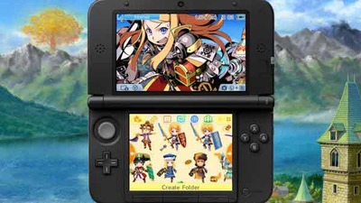 Etrian Mystery Dungeon Screenshot - Etrian Mystery Dungeon