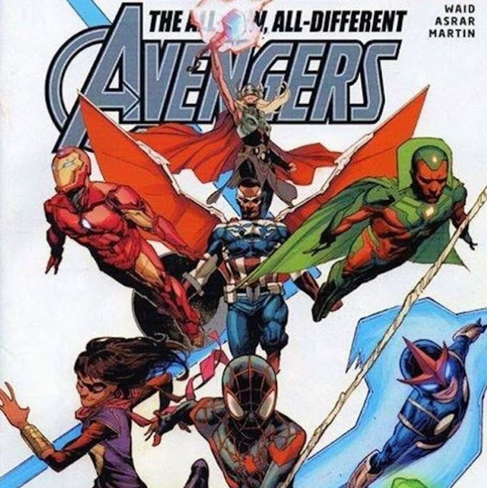 All-New, All-Different Avengers Team Assembles: Thor, Ms