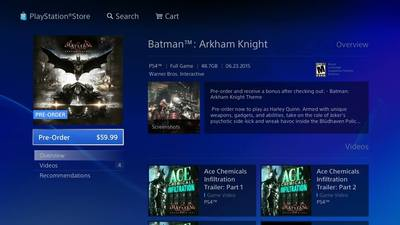 Batman: Arkham Knight Screenshot - 1180576