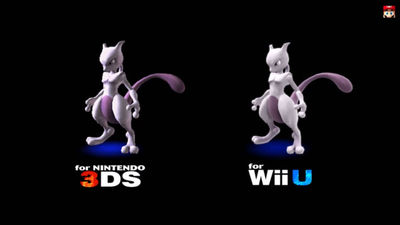Super Smash Bros. for 3DS / Wii U Screenshot - Mewtwo