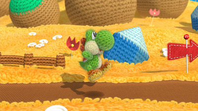Screenshot - Yoshi's Wooly World