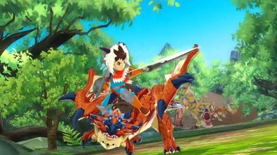 Monster Hunter 4 Ultimate Screenshot - Monster Hunter Stories