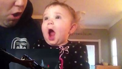 star wars babies react