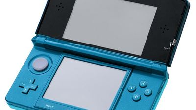 The Nintendo 3DS handheld system