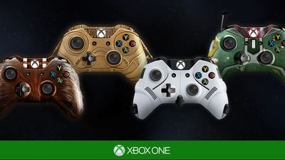 Xbox One (Console) Screenshot - Star Wars Xbox One Controllers