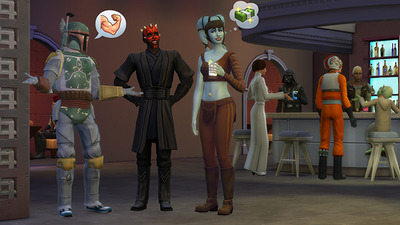 The Sims 4 - Star Wars costumes