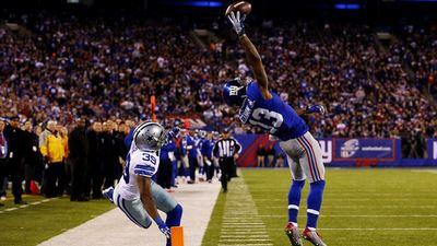 Madden NFL 15 Screenshot - Odell Beckham Jr. catch over Cowboys