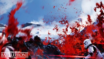 Star Wars: Battlefront (DICE) Screenshot - Star Wars Battlefront - Sullust planet
