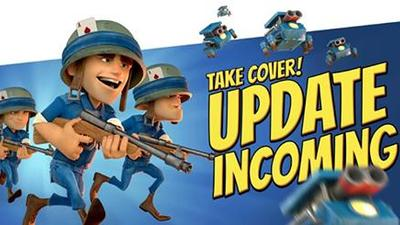 Boom Beach Screenshot - Boom Beach Temple of Doom Cannons