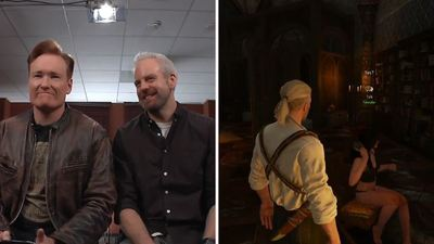 Conan 'Clueless Gamer' plays The Witcher 3 Wild Hunt