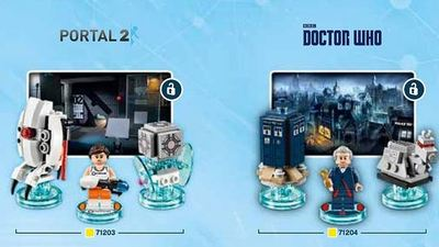 LEGO Dimensions - Level expansions for Doctor Who and Portal 2