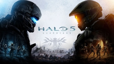 Halo 5 Box Art