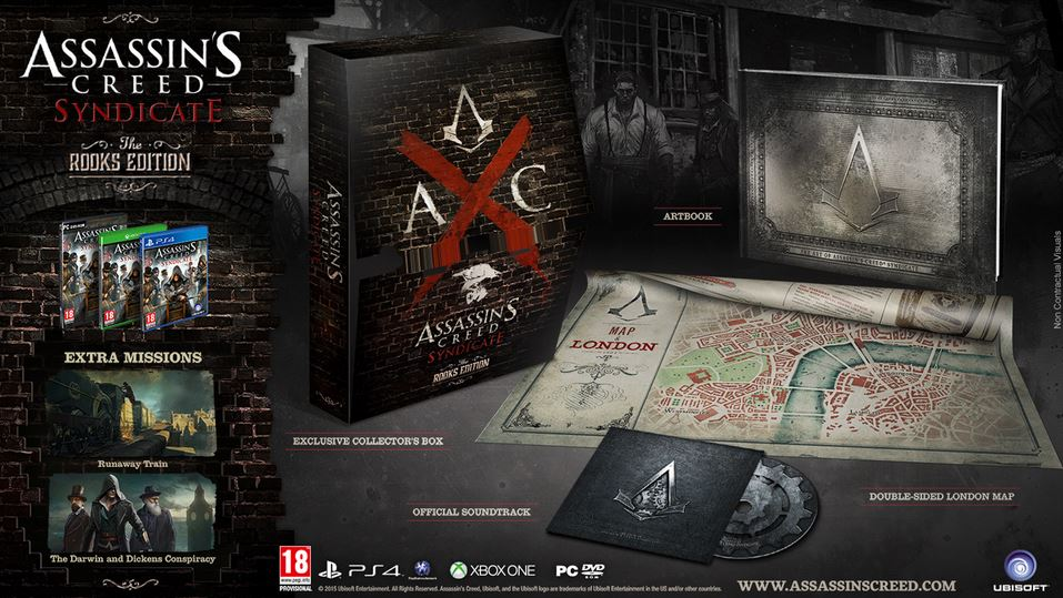 Assassin's Creed Syndicate Collector's Editions revealed