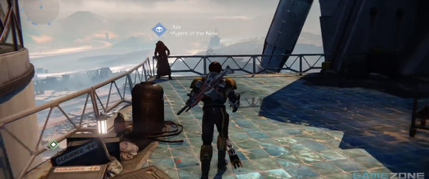 Destiny: Xur, Agent of the Nine, near Speaker