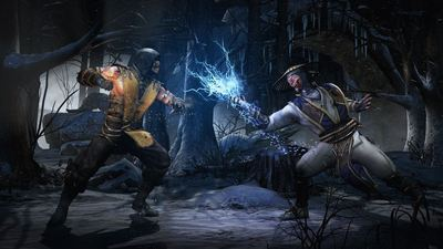 mortal kombat x scorpion raiden