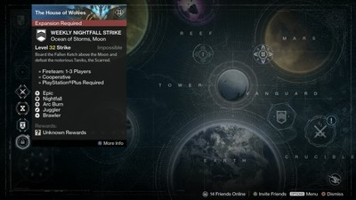 Destiny House of Wolves Weekly Nightfall Strike