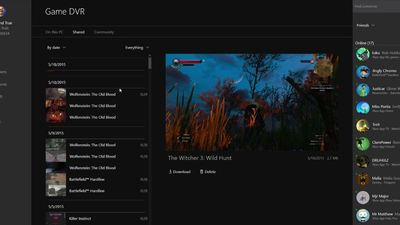 Xbox One Windows 10 app