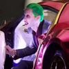 Watch Suicide Squad's Joker get chased down by the Batmobile