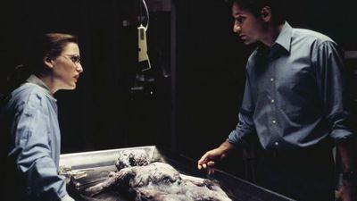 David Duchovny actually cried when seeing the script of the X-Files reboot