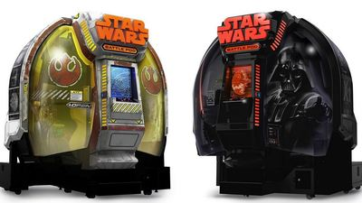 Grab your very own Star Wars: Battle Pod with leather seats from Namco Bandai