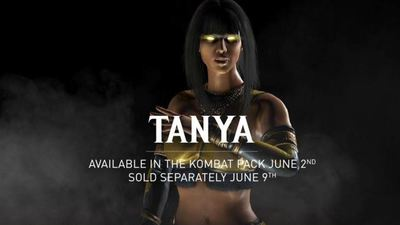 You can play as Tanya in Mortal Kombat X next week