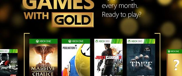 June 2015's Games with Gold announced for Xbox One and Xbox 360